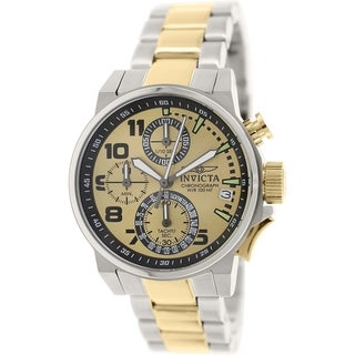 Invicta Women's I-Force 17428 Silver Stainless-Steel Analog Quartz Watch
