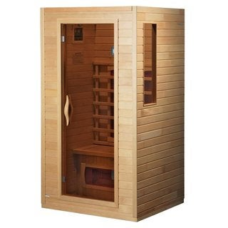 Dynamic 2-person DYN-9101-01 Light Hemlock Wood Ceramic Sauna