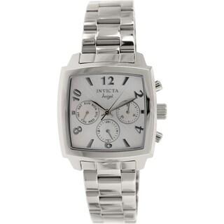 Invicta Women's Angel 12100 Stainless Steel Swiss Chronograph Watch