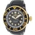 Invicta Men's Pro Diver 14668 Black Rubber Swiss Quartz Watch