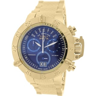 Invicta Men's Subaqua 17617 Gold Stainless Steel Swiss Chronograph Watch
