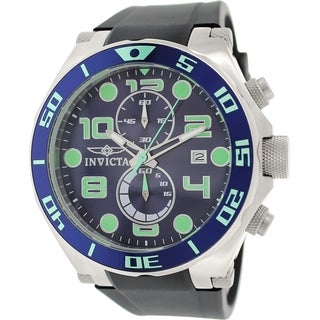 Invicta Men's Pro Diver 17813 Black Rubber Analog Quartz Watch
