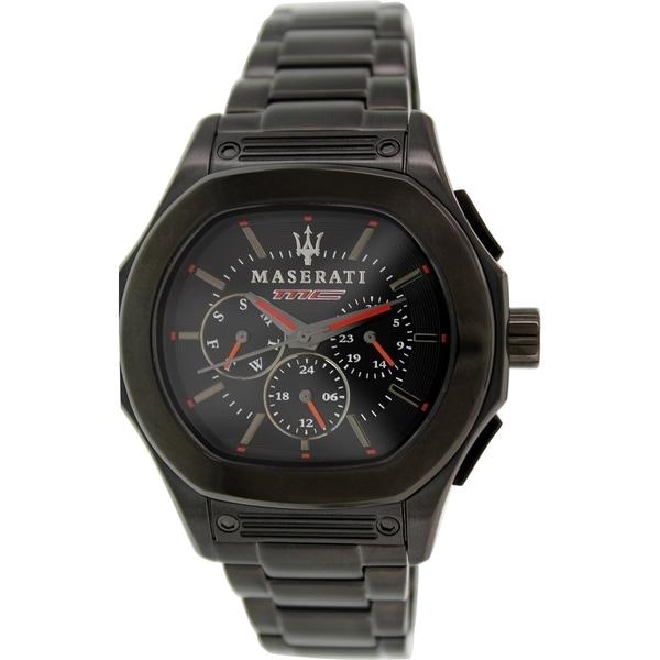 Maserati Men's Fuoriclasse R8853116001 Black Stainless Steel Analog Quartz Watch