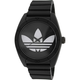 Adidas Men's Santiago Black Rubber Quartz Watch