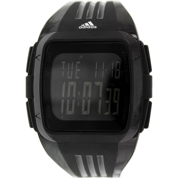 Adidas Men's Duramo Black Silicone Quartz Watch