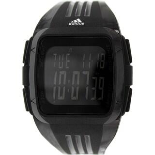 Adidas Men's Duramo Black Silicone Quartz Watch