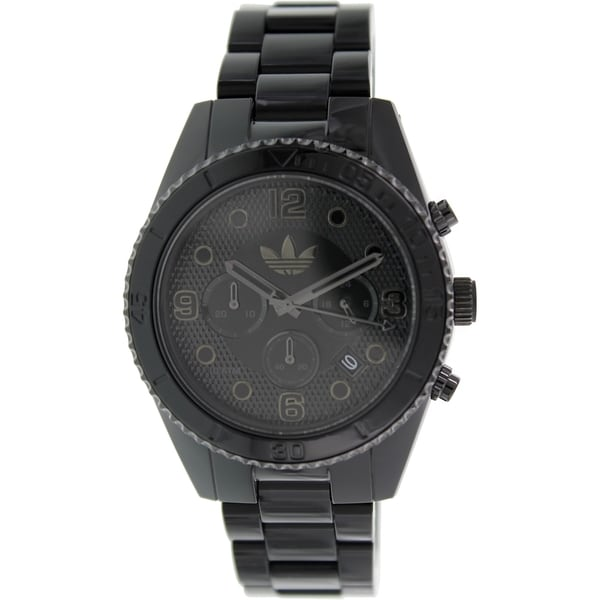 Adidas Men's Black Plastic Bracelet Quartz Watch
