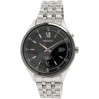 Seiko Men's SKA659 Stainless Steel Kinetic Watch