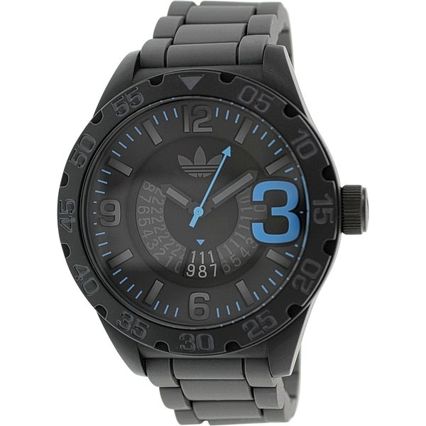 Adidas Men's Newburgh ADH2964 Grey Rubber Quartz Watch