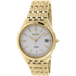 Seiko Women's SNE138 Antique Gold Stainless Steel Quartz Watch