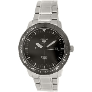 Seiko Men's 5 Automatic SRP567K Metallic Stainless Steel Automatic Watch