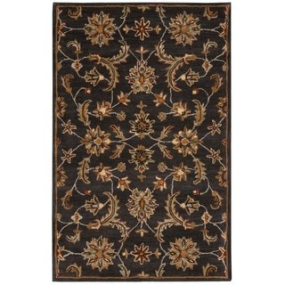 Nourison India House Charcoal Rug (3'6 x 5'6)