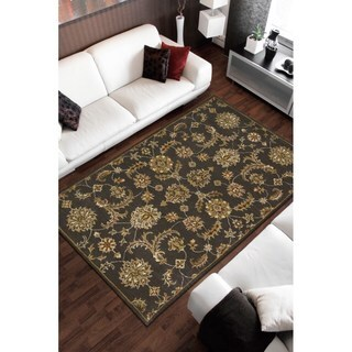 Nourison India House Charcoal Rug (5' x 8')