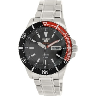 Seiko Men's 5 Automatic SRP557K Stainless Steel Automatic Watch