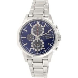 Seiko Men's SSC085 Stainless Steel Quartz Watch
