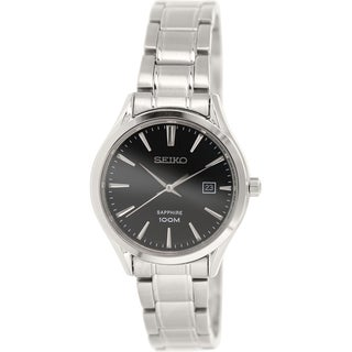 Seiko Women's SXDG19 Stainless Steel Quartz Watch