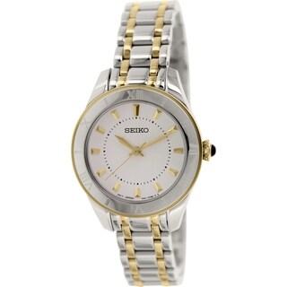 Seiko Women's SRZ432 Stainless Steel Quartz Watch