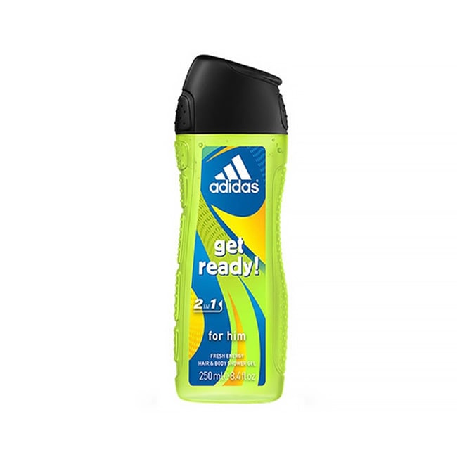 Adidas Get Ready 2 In 1 Fresh Energy Men's 8.4-ounce Hair and Body Shower Gel at Sears.com