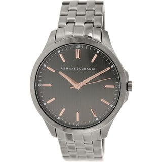 Armani Exchange Men's AX2143 Gunmetal Stainless Steel Quartz Watch