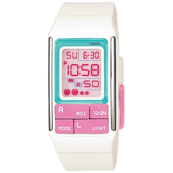 Casio Women's Core LDF51-7C Digital Resin Quartz Watch