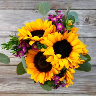 The Bouqs California Collection 'Vibrance' Single Sunflower Bouquet