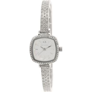 Armani Exchange Women's AX4286 Silvertone Stainless Steel Quartz Watch