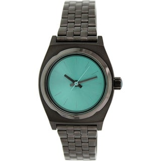 Nixon Women's Time Teller A3991697 Gunmetal Stainless-Steel Quartz Watch