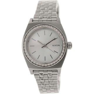Nixon Women's Time Teller A3991874 Stainless-Steel Watch