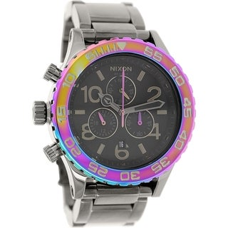 Nixon Women's 42-20 A0371698 Gunmetal Stainless Steel Quartz Watch