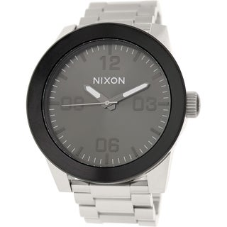 Nixon Men's 'Corporal SS A3461762' Stainless Steel Quartz Watch