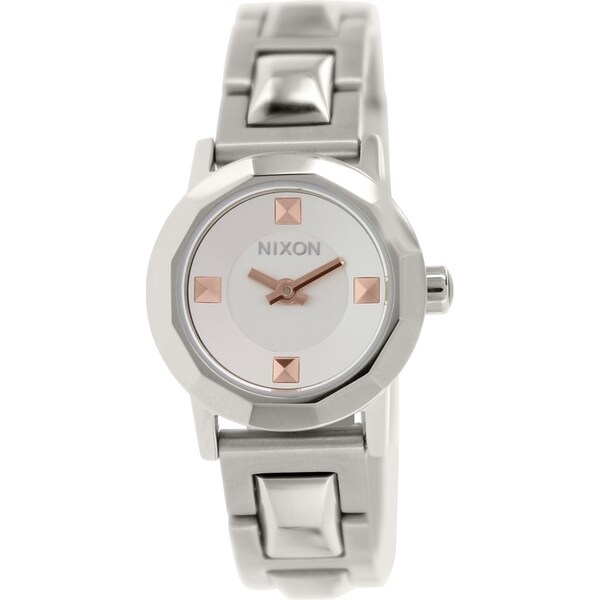 Nixon Women's Mini B A339130 Silver Stainless Steel Quartz Watch