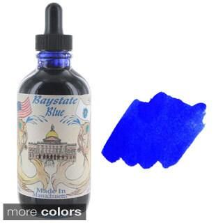 Noodler's Ink Fountain Pen Bottled Ink with Eyedropper, 4.5 ounces, Free Pen , 10 Color Options
