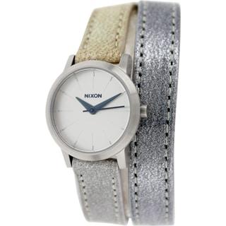 Nixon Women's Kenzi A4031875 Multi Leather Quartz Watch