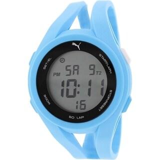 Puma Men's PU911131004 Blue Silicone Quartz Watch