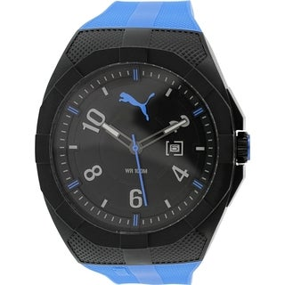 Puma Men's PU103501004 Blue Silicone Analog Quartz Watch