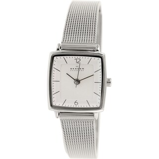 Skagen Women's Strand SKW2217 Silvertone Stainless Steel Quartz Watch