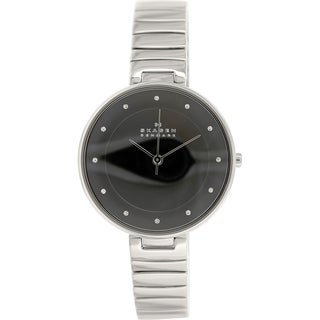 Skagen Women's Gitte SKW2225 Silvertone Stainless Steel Quartz Watch