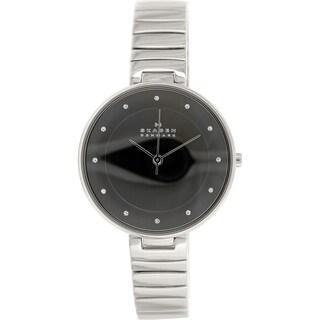 Skagen Women's Gitte SKW2225 Silvertone Stainless Steel Quartz Watch