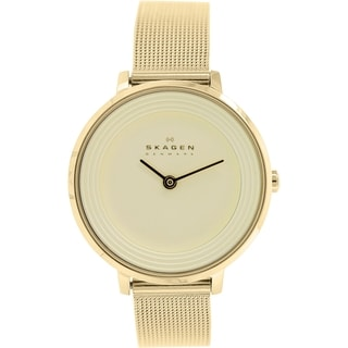 Skagen Women's Ditte SKW2212 Goldtone Stainless Steel Quartz Watch