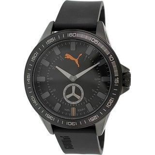 Puma Men's PU103631002 Black Analog Quartz Watch
