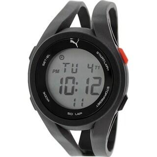 Puma Men's PU911131001 Black Silicone Quartz Watch