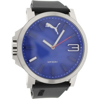 Puma Men's Ultrasize 50 PU103461014 Blue Silicone Analog Quartz Watch