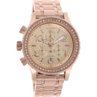 Nixon Women's 38-20 A404897 Rose Gold Stainless-Steel Quartz Watch