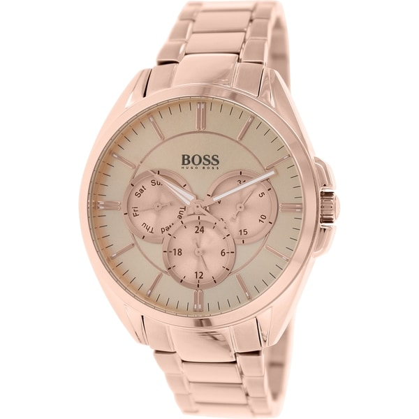 Hugo Boss Women's 1502360 Rose Gold Stainless-Steel Analog Quartz Watch