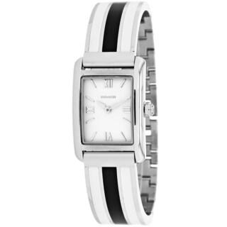 Coach Women's 14501977 Legacy Square Two-Tone Bracelet Watch