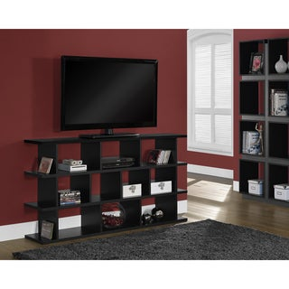 "Black Hollow-core 60"" Horizontal / Vertical Etagere"