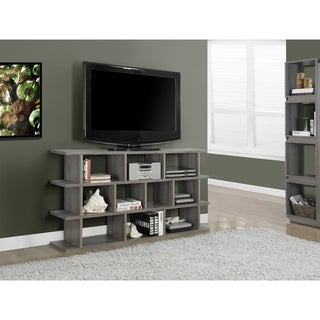 Dark Taupe Hollow-core 60-inch Horizontal / Vertical Etagere