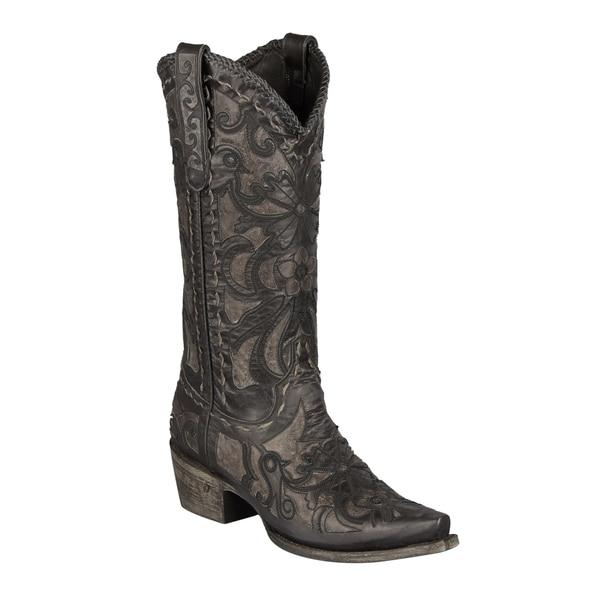 Lane Boots Women's 'Robin' Grey Cowboy Boot