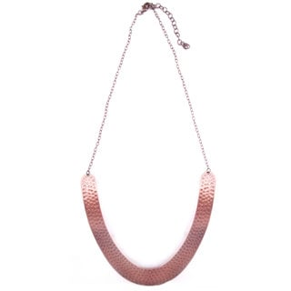 Global Echo Copper-tone Necklace (India)