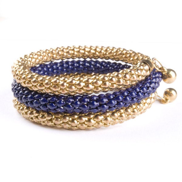 Medici Metallic Wrap Bracelet (India)